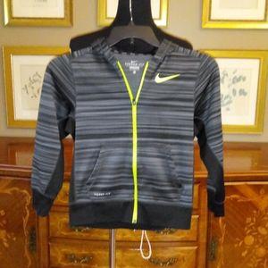 1210 Boys Nike Full Zip Hooded Jacket